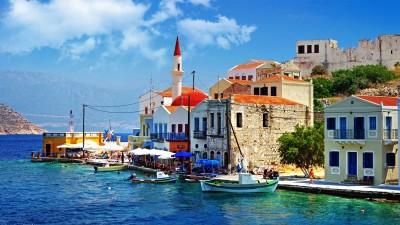 Greece Permit Port Town