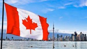 Permanent Residency Canada flag