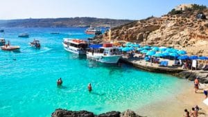 Malta Residence Permit beach