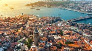 Turkey Citizenship by Investment Istanbul bird's eye view